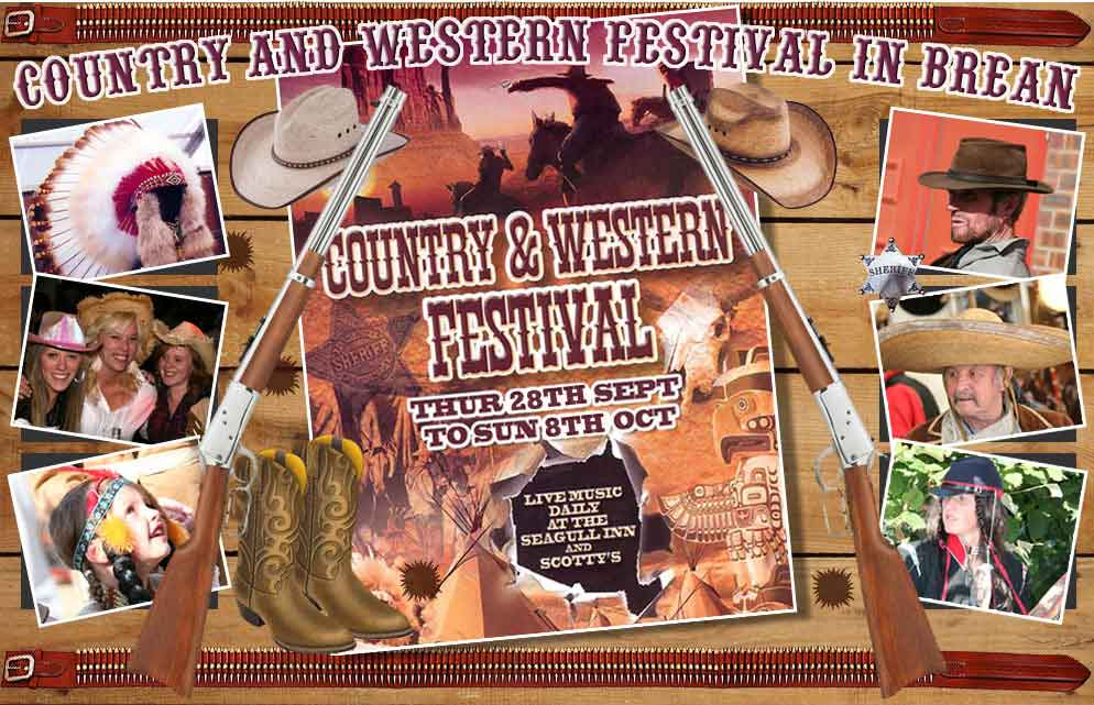 Country and Western Festival in Brean